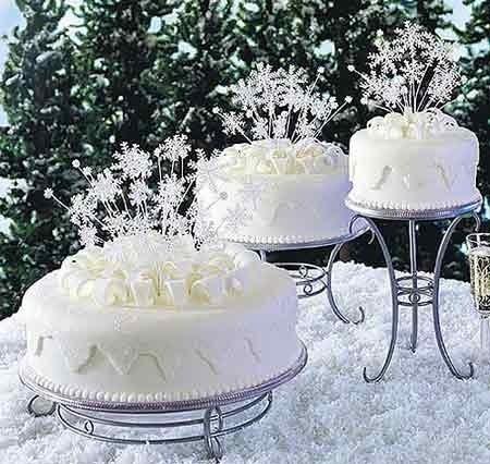 Best Christmas Wedding Cake Decorations